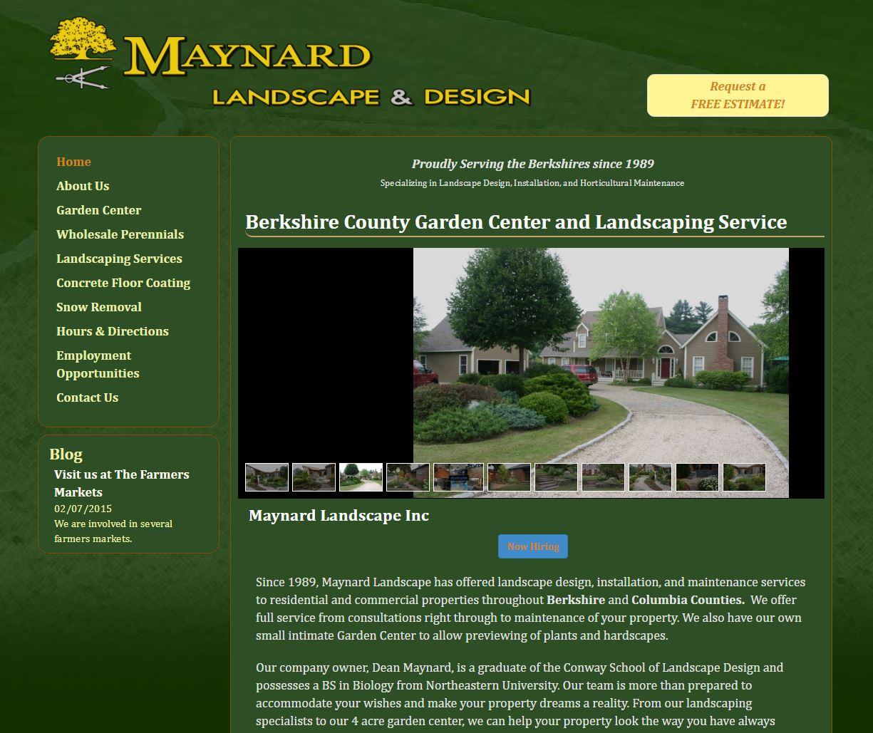 Colorful garden website design illustration beautiful for Garden design websites